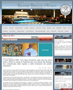 Masones felicitan al Papa