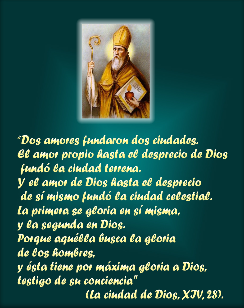 Frases De San Agustin Sobre El Amor