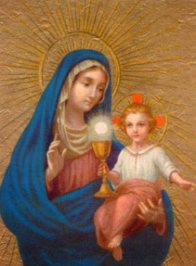 our lady of the blessed sacrament