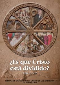 Cartel blasfemo sobre el ecumenismo