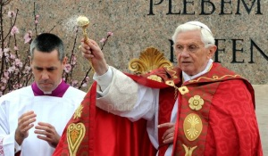Pope leads Palm Sunday mass at Vatican