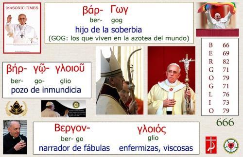 Gematría de Bergoglio