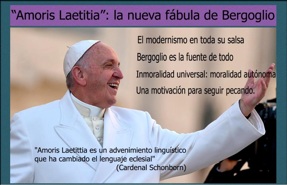 Sobre las herejías del usurpador Bergoglio